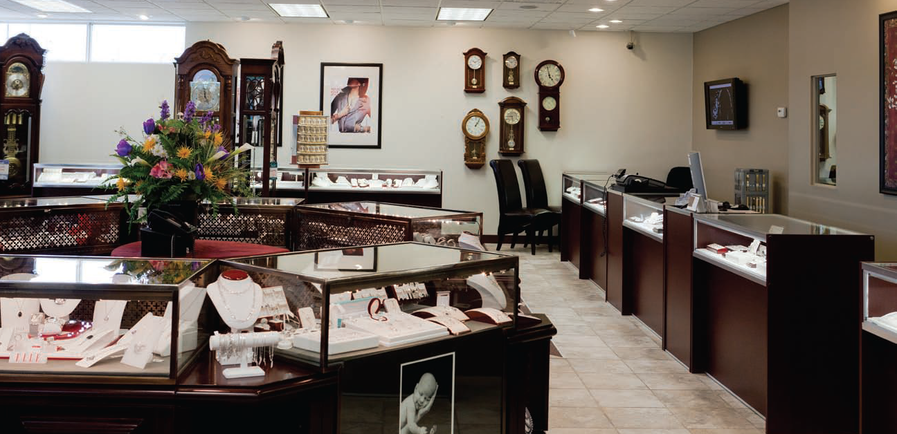Star-Set Jewellers Pembroke location showroom