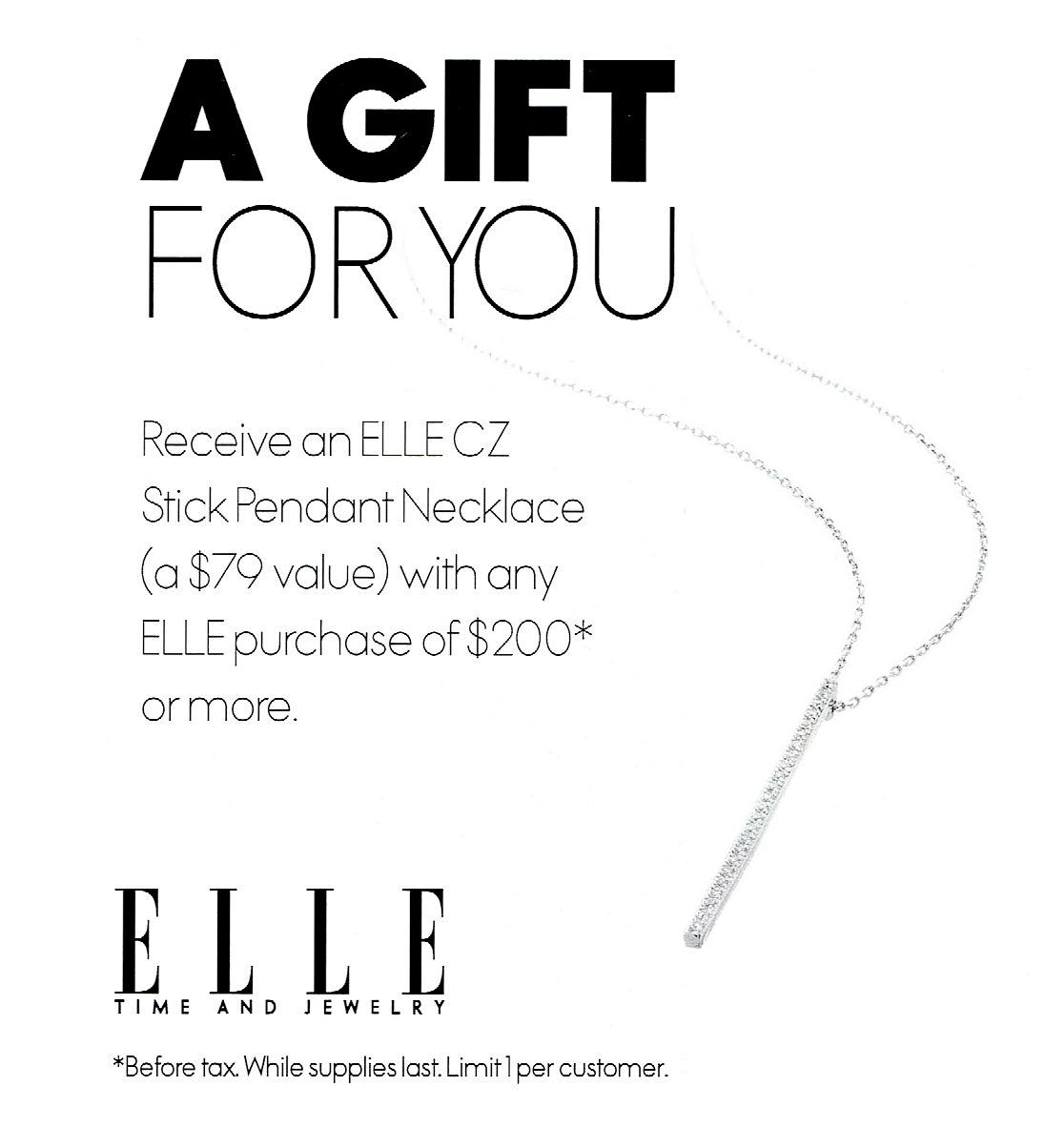 ELLE gift campaign